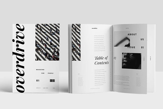 Magazine - 50+ Awesome Interior Magazine InDesign Templates [year]