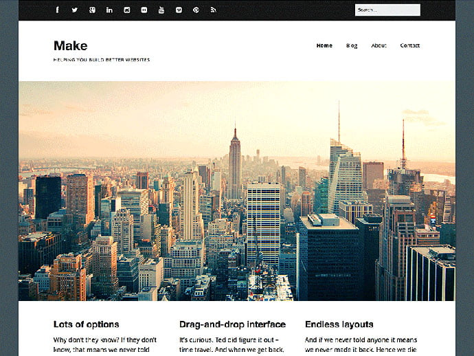 Make - 61+ Free Creating Responsive WordPress Themes [year]