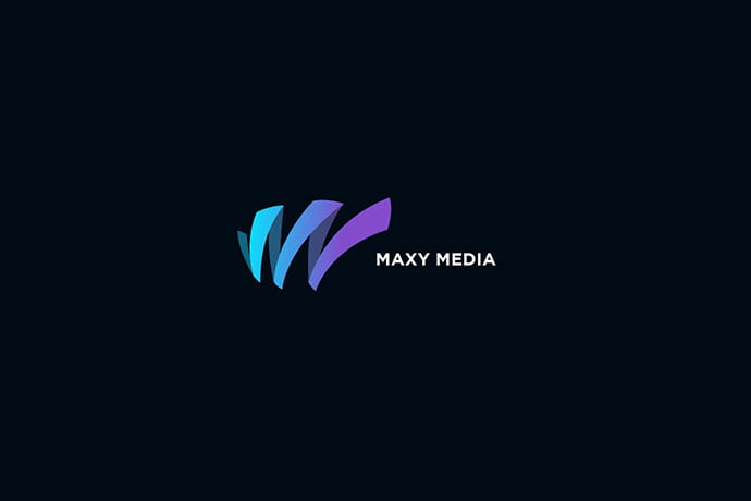 Maxy - 50+ BEST Single Letter Business Logo Template [year]