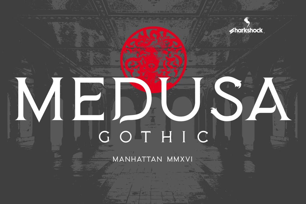 Medusa-Gothic - 51+ All Caps Fonts For Your Unique Personality Headline Website [year]