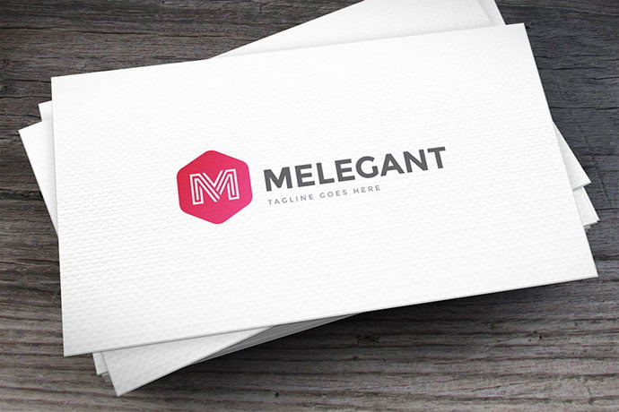 Melegant-Letter-M-Logo-Template - 50+ BEST Single Letter Business Logo Template [year]