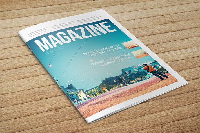 Minimal-2 - 50+ Awesome Interior Magazine InDesign Templates [year]