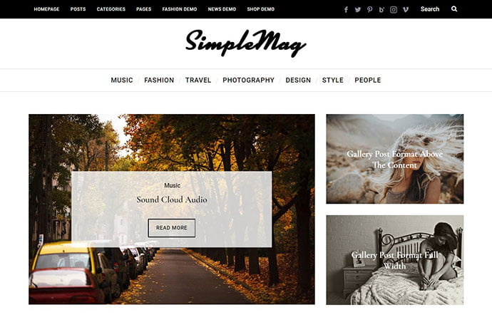 Minimalist-Newspaper-WordPress-Themes