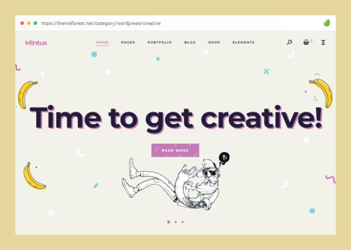 Mintus - 30+ Awesome Showcasing Illustrations WordPress Themes [year]