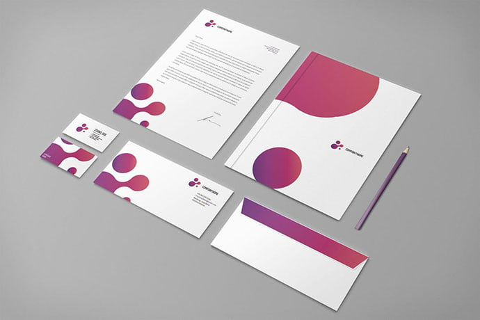 Modern-Purple-Business - 35+ Remarkable Stationery Branding Design Templates [year]