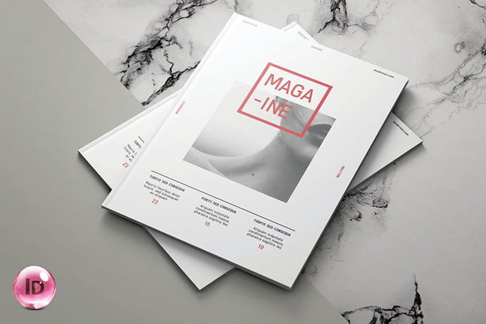 Modernist - 50+ Awesome Interior Magazine InDesign Templates [year]