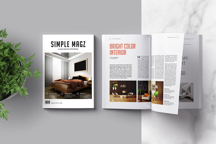 Multipurpose - 50+ Awesome Interior Magazine InDesign Templates [year]