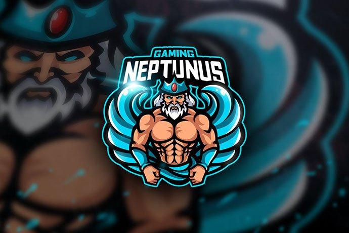 Neptunus-Gaming - 60+ Personal & Team Branding AI & EPS eSports Logo Templates [year]