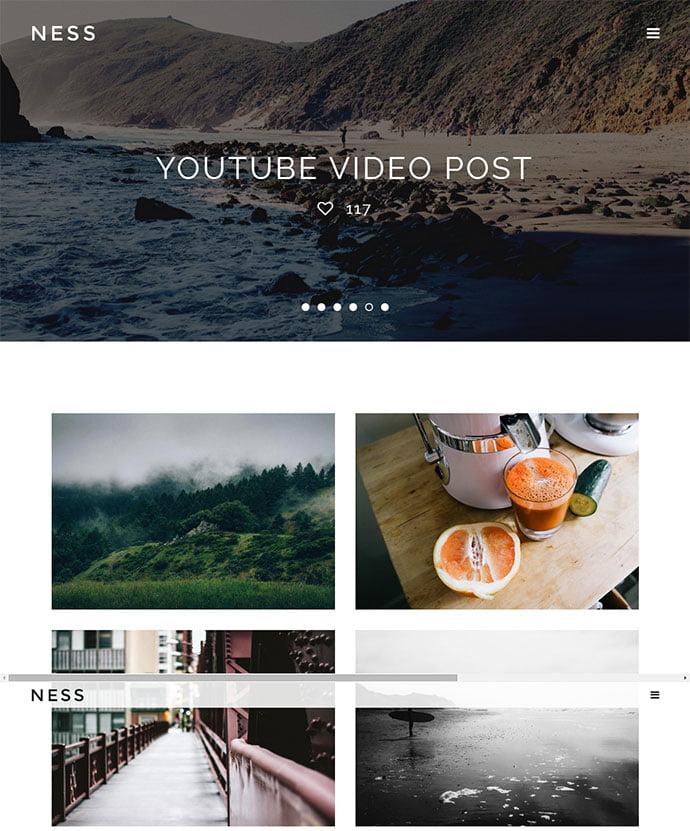 Ness - 45+ Magazine & Blog WordPress Themes To Make Your Website [year]