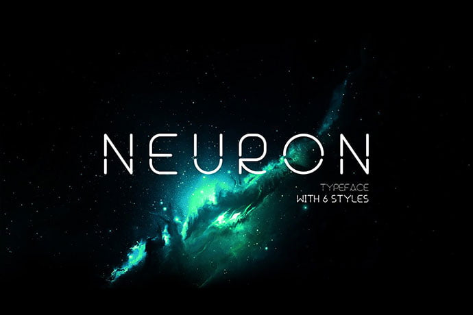 Neuron-Spatial - 35+ Fantastic Science Fiction & Fantasy Fonts For You [year]