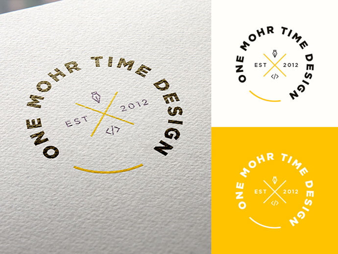 New-Logo-by-Derek-Mohr - 50+ Fantastic BEST FREE Typographic Logo Badge Designs