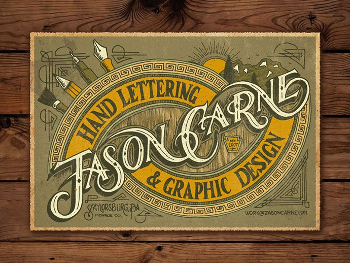 Northmade-Co.-No.-2 - 36+ Amazing Free Hand Drawn Logo Designs For You [year]