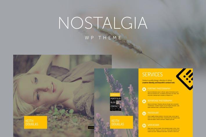 Nostalgia - 50+ Best Portfolio WordPress Theme Design [year]