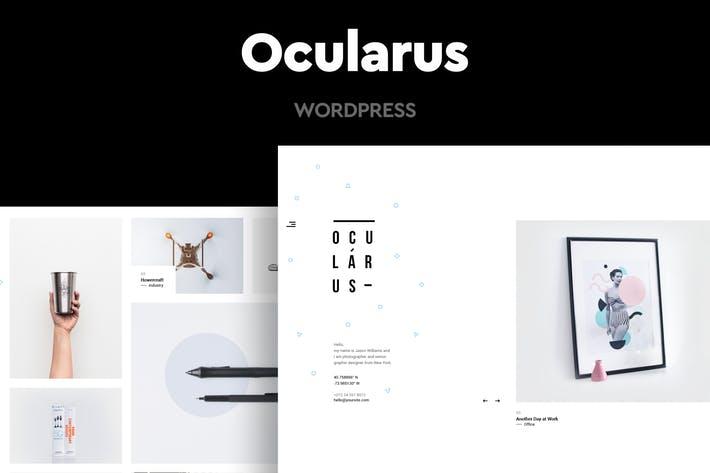 Ocularus - 50+ Best Portfolio WordPress Theme Design [year]