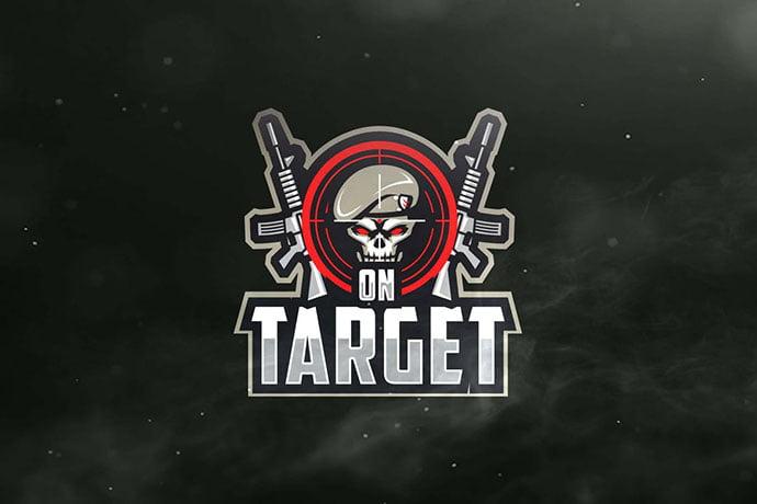 On-Target - 60+ Personal & Team Branding AI & EPS eSports Logo Templates [year]