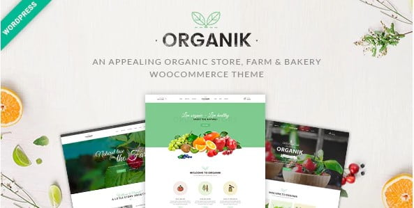 Organik - 31+ Multicolor WordPress eCommerce Themes [year]