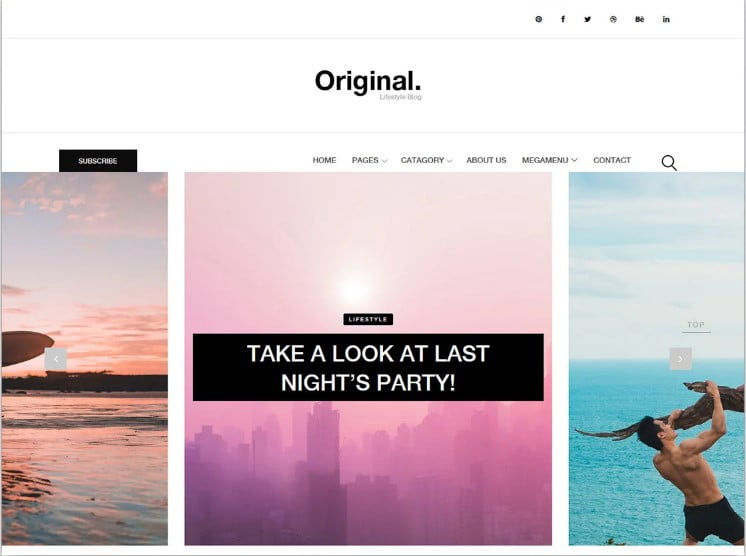 Original - 77+ Best Free HTML & CSS Clean Simple Website Templates [year]