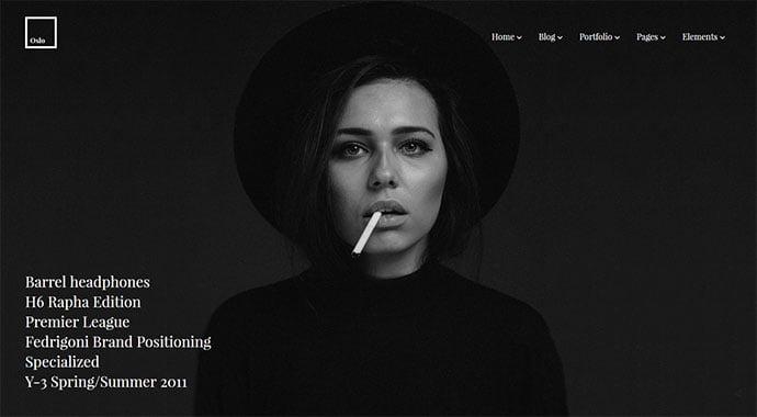 Oslo-1 - 30+ Fullscreen Slider Portfolio WordPress Themes [year]