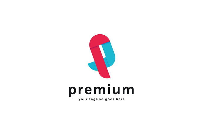 P-Letter-Logo-Template - 50+ BEST Single Letter Business Logo Template [year]