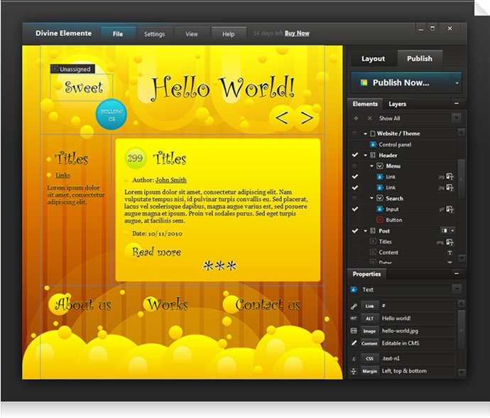 PSD-to-WordPress - 41+ Necessary Free Photoshop Plugins & Actions For Designer [year]