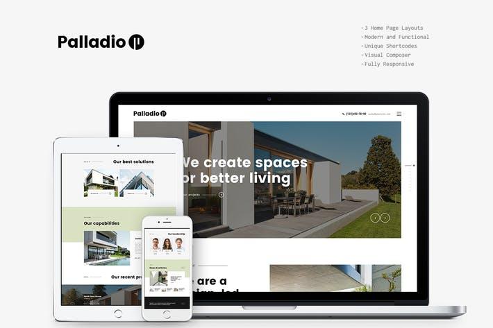 Palladio - 50+ Best Portfolio WordPress Theme Design [year]