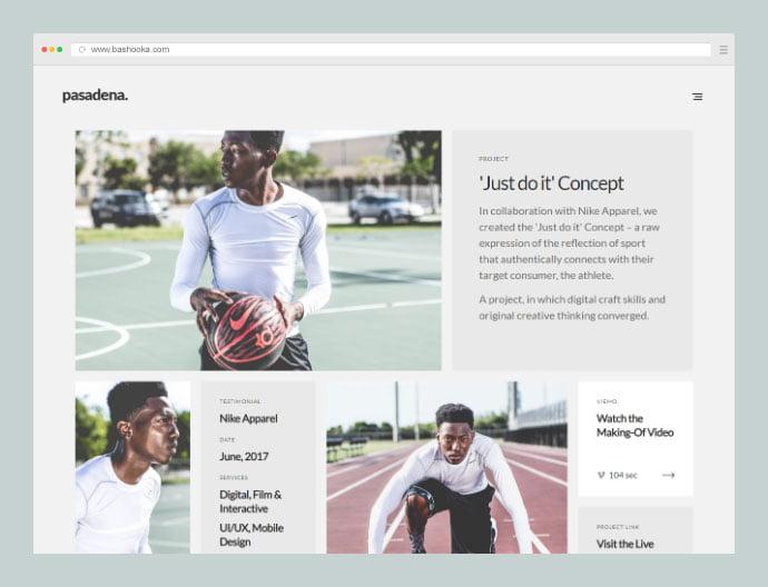 Pasadena-1 - 35+ Compelling Case Study WordPress Themes [year]
