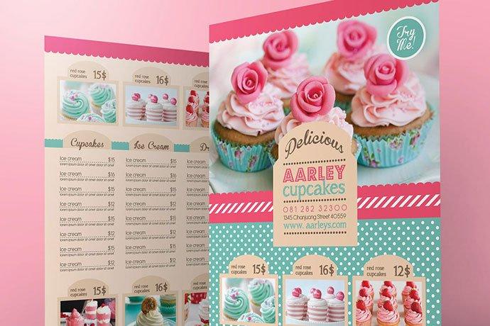 Pastry-Cake-Menu - 35+ NICE Cake and Bakery Menu Design [year]