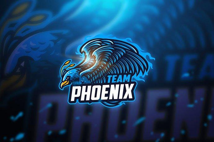 Phoenix-1 - 60+ Personal & Team Branding AI & EPS eSports Logo Templates [year]