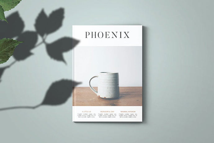 Phoenix - 50+ Awesome Interior Magazine InDesign Templates [year]