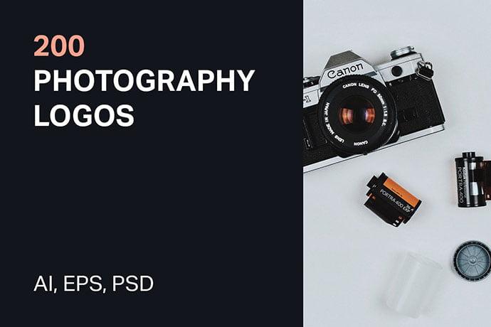 Photography-Logos - 31+ Awesome Watermark Photographer Logo Templates [year]