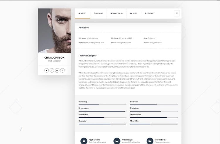 Picard - 31+ Amazing WordPress Themes for Programmers [year]