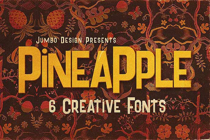 Pineapple - 51+ Stunning Travel Theme Designs Fonts For Your Website [year]