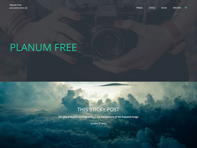 Planum - 61+ Free Creating Responsive WordPress Themes [year]