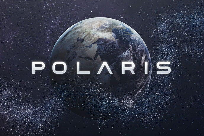 Polaris - 35+ Fantastic Science Fiction & Fantasy Fonts For You [year]