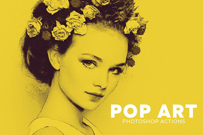 Pop-Art-Photoshop-Actions - 35+ Awesome Poster Design For Photoshop Actions [year]
