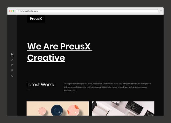 PreusX - 35+ Compelling Case Study WordPress Themes [year]