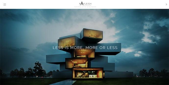 Rayleigh - 36+ Amazing WordPress Themes For Architect Portfolio [year]