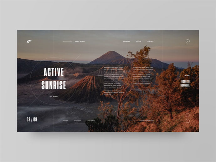 Resa - 46+ Free Inspiration of Travel Web UI Designs [year]