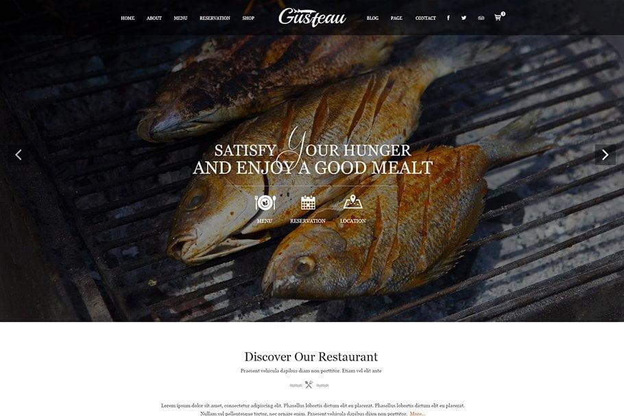 Restaurant-Website-HTML5-Templates - 41+ Stunning Restaurant Website HTML5 Templates [year]