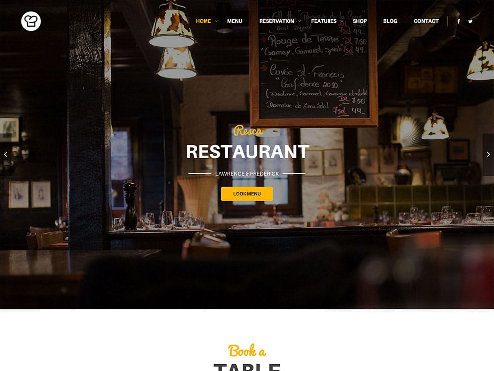 Restaurant-WordPress-Themes - 51+ Best Restaurant WordPress Themes [year]
