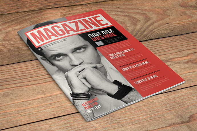 Retro-Vintage - 50+ Awesome Interior Magazine InDesign Templates [year]