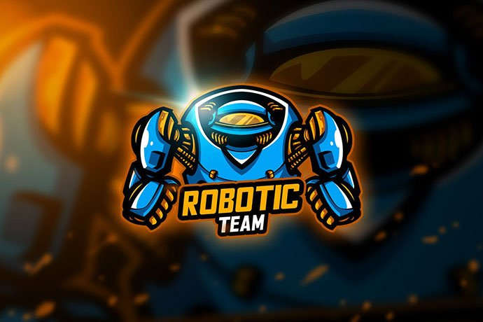 Robotic - 60+ Personal & Team Branding AI & EPS eSports Logo Templates [year]