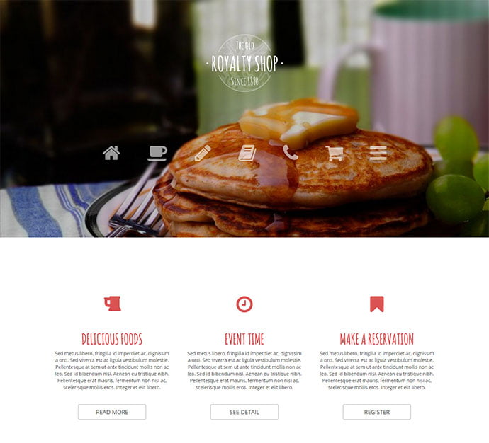 Royalty-Shop - 30+ Excellent E-commerce WordPress Themes For Food & Drink [year]