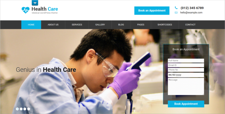 SKT-Medical-Pro - 41+ Awesome Responsive HTML5 Web Templates [year]