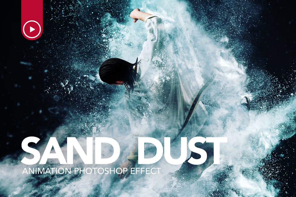 Sand-Dust - 35+ Awesome Animated GIF Photoshop Actions [year]