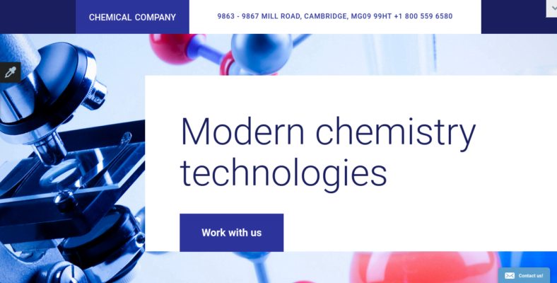 Science - 41+ Awesome Parallax Landing Page Themes [year]