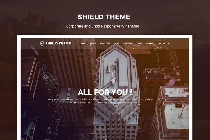 Shield - 50+ Best Portfolio WordPress Theme Design [year]