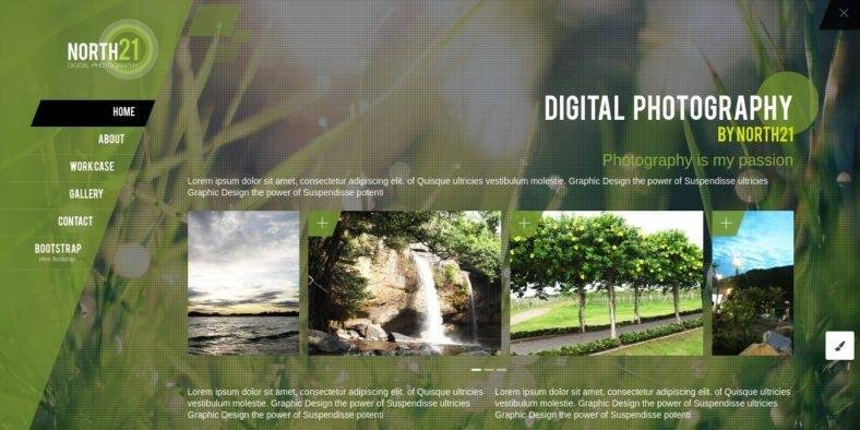 Single-page-Parallax - 36+ Best One Page Modern and Creative HTML Templates [year]