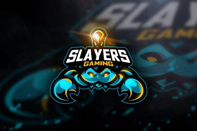Slayers-Gaming - 60+ Personal & Team Branding AI & EPS eSports Logo Templates [year]