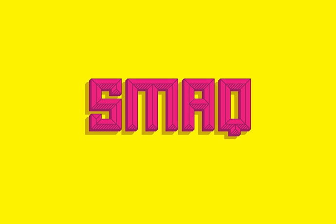Smaq-1 - 30+ Awesome BEST Square based Geometric Fonts [year]